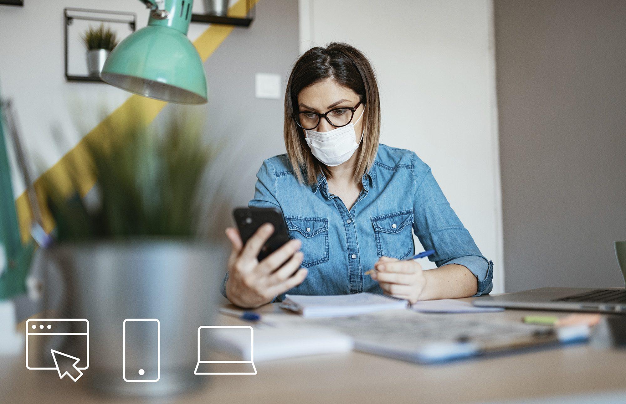 SX - Controle da vida financeira no isolamento social a importância dos  canais digitais