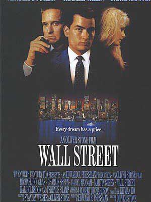 Wall Street poder e cobiça - Cartaz